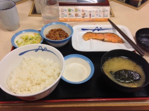 Breakfast for 150 yen!