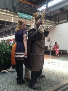 That day i hung out with Furries
